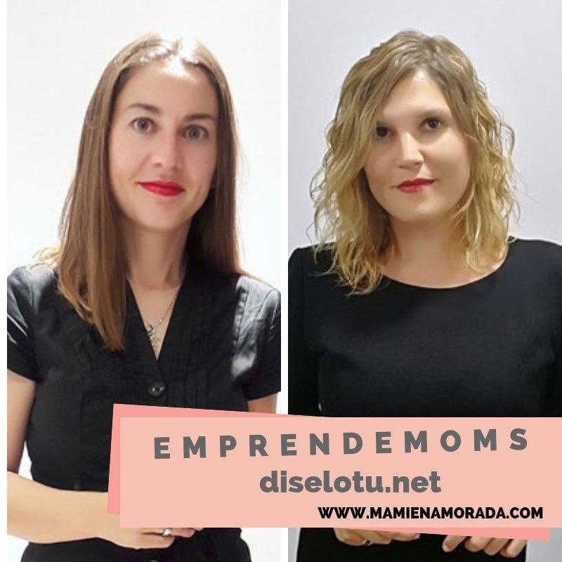 EmprendeMoms a Lorena y Nerea,diselotu.net